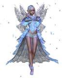 Fairy del ghiaccio di inverno Fotografie Stock Libere da Diritti
