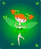 Fairy del trifoglio Immagine Stock