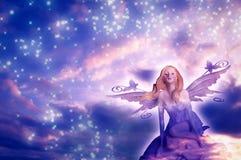 Fairy dell'elfo dei sogni Fotografia Stock Libera da Diritti