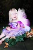 Fairy della farfalla Fotografia Stock