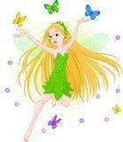 Fairy della sorgente Fotografie Stock Libere da Diritti