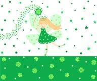 Fairy di buona fortuna Immagine Stock Libera da Diritti