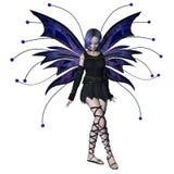 Fairy di Goth di inverno - 2 Immagine Stock