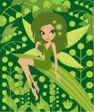 Fairy di legno Fotografia Stock Libera da Diritti