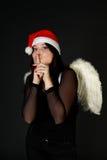 Fairy di natale Immagine Stock