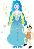 Fairy di Pinocchio Fotografie Stock