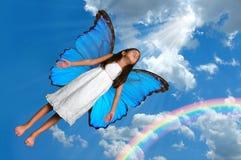 Fairy di volo immagini stock