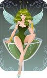 Fairy do Absinth Fotografia de Stock Royalty Free