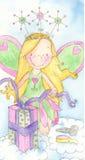 Fairy do aniversário Fotografia de Stock Royalty Free