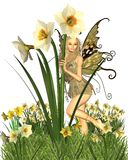 Fairy do Daffodil - 2 Foto de Stock Royalty Free