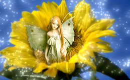 Fairy do duende dos sonhos foto de stock