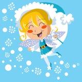 Fairy do inverno Imagens de Stock