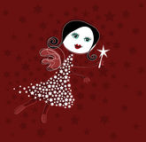Fairy do Natal Foto de Stock Royalty Free