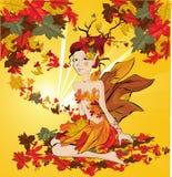 Fairy do outono Fotografia de Stock Royalty Free