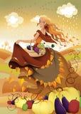 Fairy do outono Imagens de Stock
