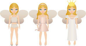 Fairy dolls Royalty Free Stock Image