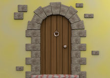 Fairy Door - 3d Stock Photos