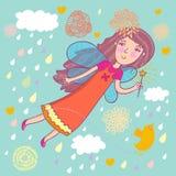 Fairy dos desenhos animados Imagem de Stock