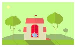 Fairy dream house Stock Photo