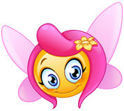 Fairy emoticon Royalty Free Stock Photo