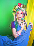 Fairy ereto Fotografia de Stock Royalty Free