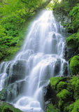 Fairy Falls. A waterfall in the Columbia River Gorge area, Oregon