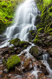 Fairy falls in Columbia River Gorge, Oregon Royalty Free Stock Photo