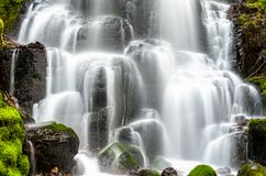 Fairy Falls in the Columbia River Gorge, USA stock images