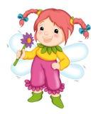 Fairy felice Fotografia Stock