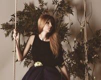 Fairy female portrait. Stock Photography