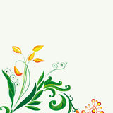 Fairy floral background Stock Photo