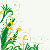 Fairy floral background. Vector illustration for your design Royalty Free Stock Photo