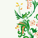 Fairy floral background. Vector illustration for your design Stock Images