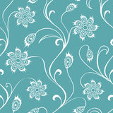 Fairy floral seamless pattern Royalty Free Stock Photos