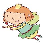 Fairy flying Royalty Free Stock Photography