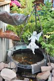 Fairy fountain Royalty Free Stock Photography