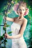 Fairy garden Stock Images