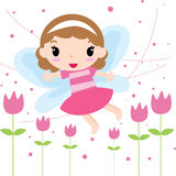 Fairy girl Royalty Free Stock Images