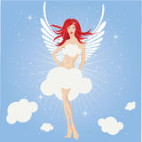 Fairy girl , angel Stock Photos