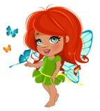 Fairy girl Stock Photo