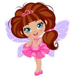 Fairy girl in elegant  dress Stock Photo