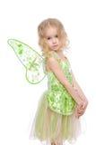 Fairy girl portrait stock photography