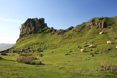 The Fairy Glen, Isle of Skye. 'Castle Ewen' in the Fairy Glen, Isle of Skye Royalty Free Stock Photography