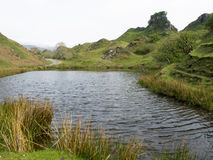 Fairy Glen on The Isle of Skye Stock Photo