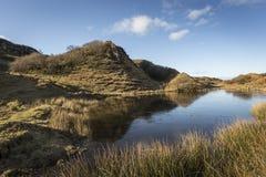 The Fairy Glen on the Isle of Skye in Scotland. Stock Photos