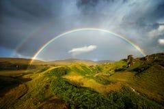 Fairy Glen rainbow Royalty Free Stock Images