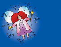 Fairy Godmother. Everyone can use a fairy godmother stock illustration