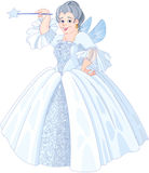 Fairy Godmother. Illustration of a Fairy godmother Stock Photos