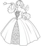 Fairy Godmother Making a Wish Stock Images