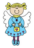 Fairy grazioso Fotografia Stock Libera da Diritti